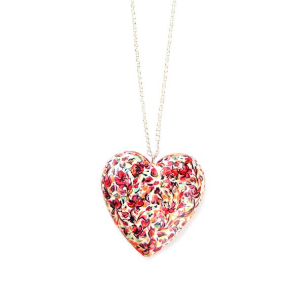 heart pendant rose